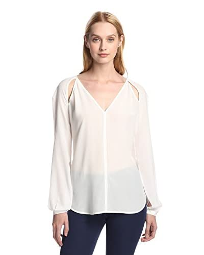 Rachel Roy Women's Split Sleeve Blouse