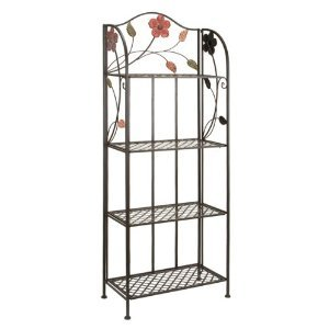 Buy Contemporary Metal Bakers Rack