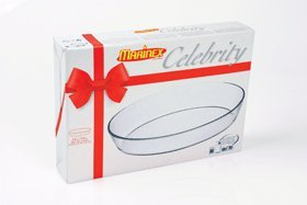 Lancaster Colony Gd16662939 Medium Oval Roaster, 3.4 Qt, Gift Boxed, Pk 6 Ea