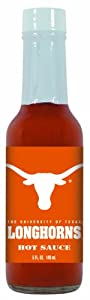 4 Pack Texas Longhorns Hot Sauce 5 Oz Cayenne by Hot Sauce Harry's