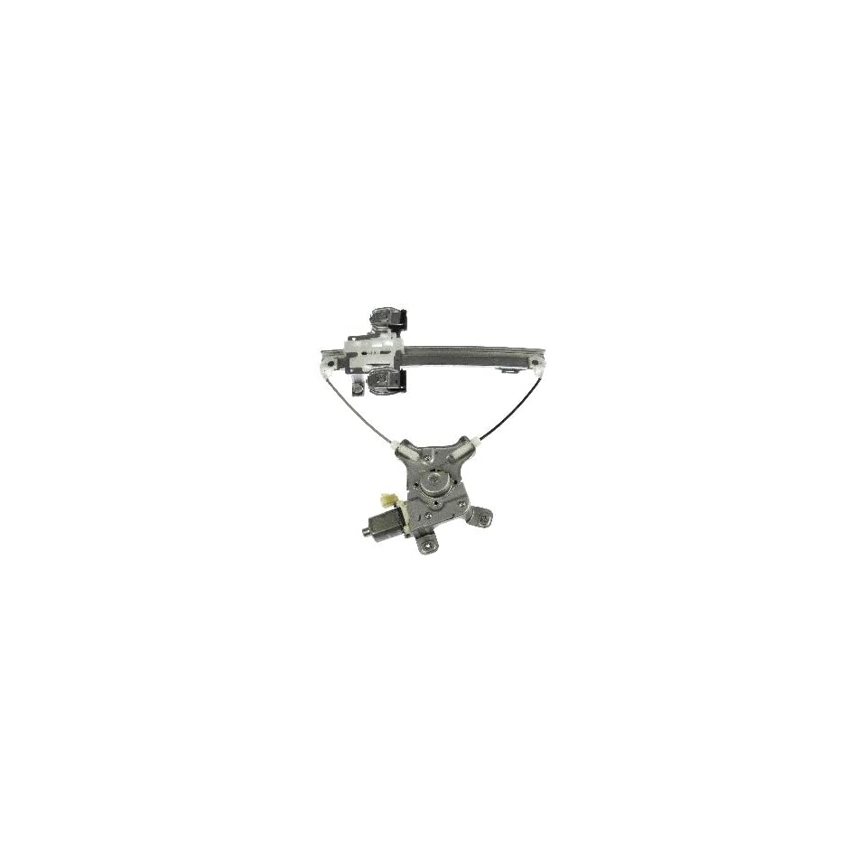 Dorman 741 391 Rear Passenger Side Replacement Power Window Regulator with Motor for Select Cadillac/GMC/Chevrolet Models