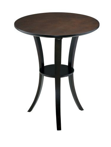 Adesso Montreal End Table, Walnut