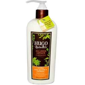 Hugo Naturals All Over Lotion, Shea Butter and Oatmeal, 8 Ounce