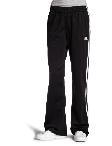adidas Women's 3-Stripes Smalls, Black/White, Large