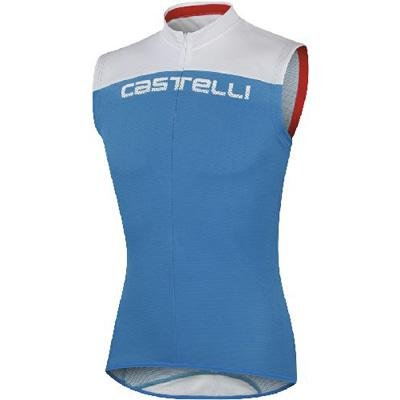 Buy Low Price Castelli 2012 Men's Prologo HD Sleeveless Cycling Jersey – A11005 (B004QMHETI)