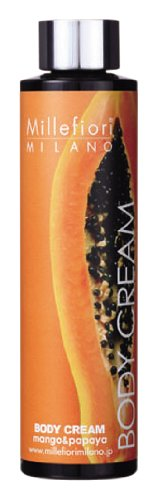 Millefiori(ミッレフィオーリ) ボディクリーム 300ml マンゴ&パパイア BC-30-004