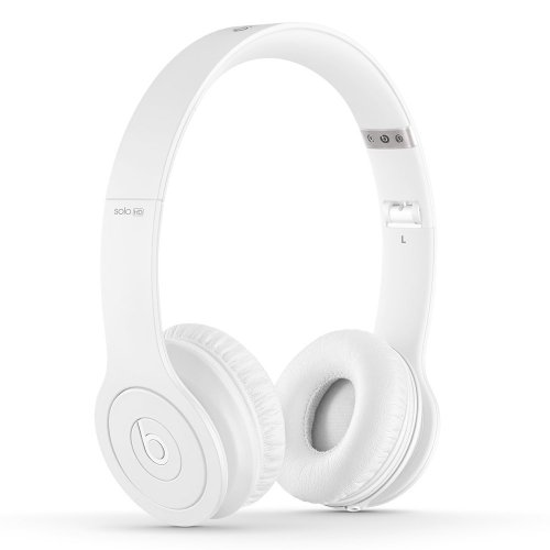 Beats by Dr. Dre SOLOHD | Solo HD On-Ear Headphone Drenched (White 900-00154-01)