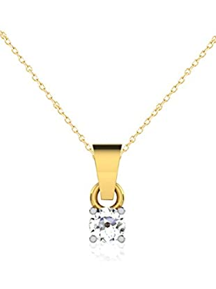Friendly Diamonds Conjunto de cadena y colgante FDP6255Y Oro Amarillo