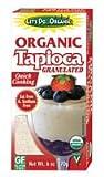Let's do organic Tapioca-Granulated/Vegan (100% Organic), 6-Ounce (Pack of 6) ( Value Bulk Multi-pack)