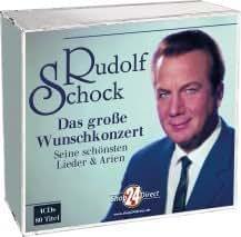 Rudolf Schock - Das große Wunschkonzert - Seine schönsten Lieder - 4CD-Box