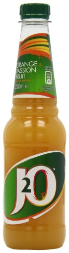 J2o Orange and Passion Fruit Juice Drink 330 Ml (pack Of 12)