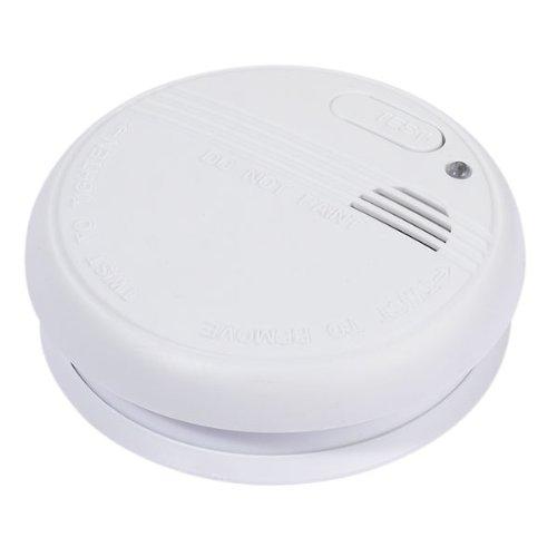 Vivanco SD 3 Fotoelektrischer Rauchmelder inklusive 9V Batterie, akustishes Signal, weiß