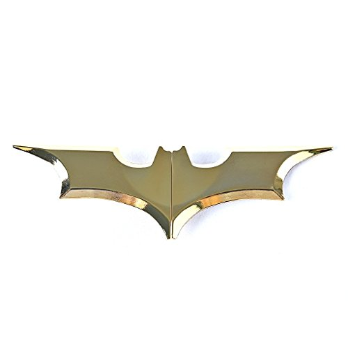 Unisex's Zinc Alloy Man Batman Batarang Money Clip 2016 (Gold) (Batman Batarang Money Clip compare prices)