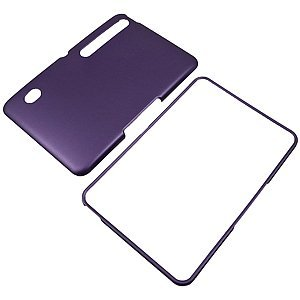 Dark Purple Rubberized Protector Case for Motorola XOOM (Motorola MZ600) at Electronic-Readers.com