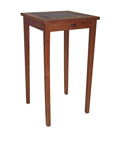Panama Jack Leeward Islands 24″ Natural Teak Pub Table