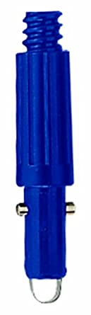 Continental 2551, Aluminum Blue Threaded/Tapered End Cone, For CCP Telepoles (Case of 100)