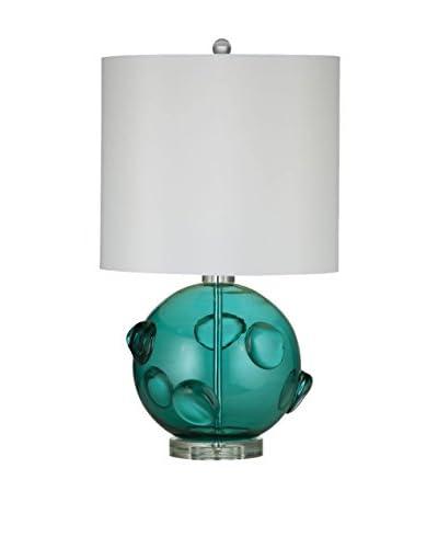 Bassett Mirror Company Brooks Table Lamp, Green