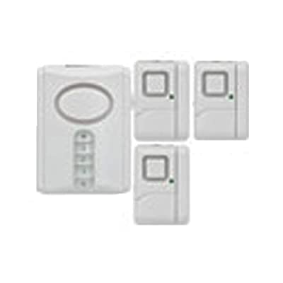 Jasco Products 51107 Security Alarm Kit, 4-Pc.