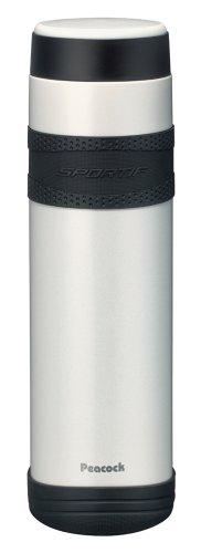 ピーコック ステンレスボトル 【マグタイプ】 1.0L パールホワイト AMJ-R100(WS)