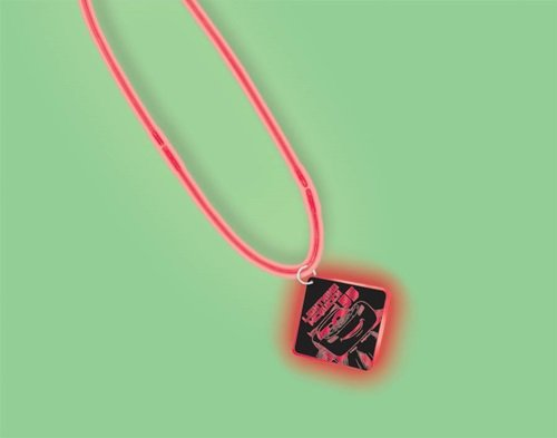 Disney Cars Party Favors - 1 Glow Pendant Necklace