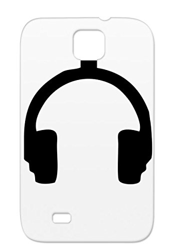 Tpu Black For Sumsang Galaxy S4 Phones Urban Phones Music Player Beat Miscellaneous Mp3 Dj Music Speaker Headphones Dance Case