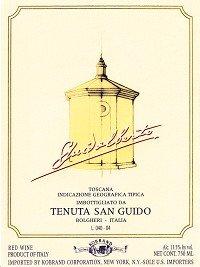 Tenuta San Guido Guidalberto 2011 750Ml