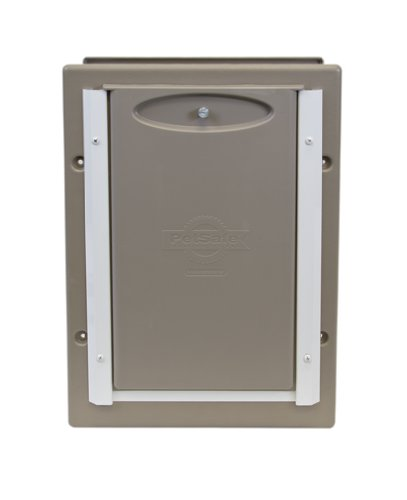 Petsafe Telescoping Aluminum Wall Entry Pet Door Small New Free Shipping Ebay