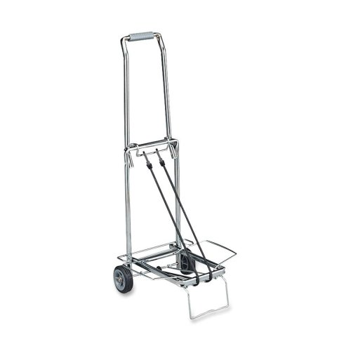 d83d16eaf80f Folding Luggage Carrier Wheeled Cart Trolley Suitcase Hand Truck ...