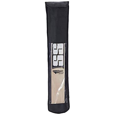 SS Ton Heritage English Willow Cricket Bat, Short Handle