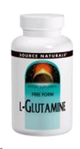 Source Naturals L-glutamine 500 mg 100 Capsules