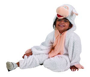 Lamb Child Costume Size Small 2-4 Toddler