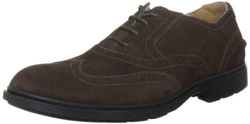 Sebago Men's Breton Lace-Up Shoe Chocolate Suede B22803 10.5 UK