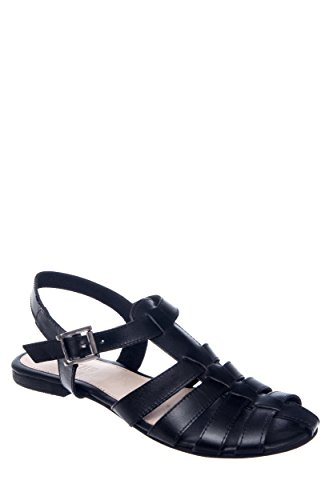 Bubble Strappy Flat Sandal
