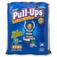 Huggies Pull-Ups Training Pants, Boys, 3T-4T, 104-Count