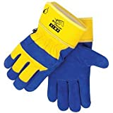 B.A.G.G. BLUE And YELLOW Waterproof Insulated WINTER Work Gloves - XL
