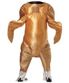 Rasta Imposta Gobbler The Turkey, Gold, One Size