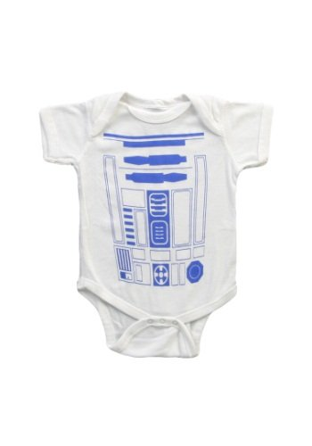 R2d2 Star Wars Costume Infant Baby Romper Snapsuit 18 Months