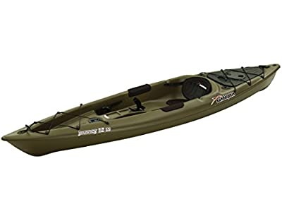 Sun Dolphin Journey Sit-On Fishing Kayak, 12 Feet