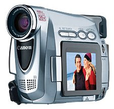 Canon ZR200 MiniDV Camcorder w/20x Optical Zoom (High Metal)
