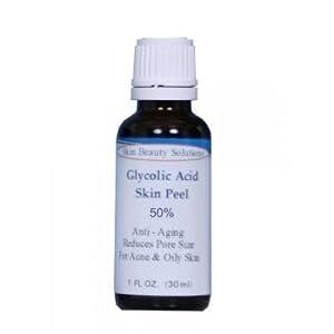 GLYCOLIC Acid 50% Skin Chemical Peel - Unbuffered