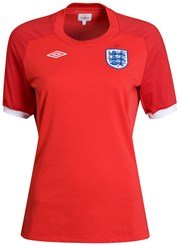 England Away Shirt 2010 - Womens - Size 10