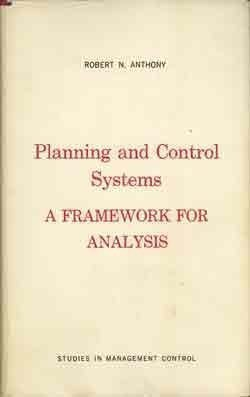 Planning and Control Systems: A Framework for