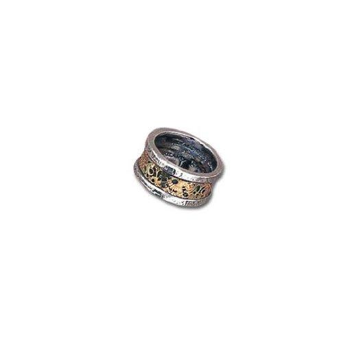 Alchemy Empire: Steampunk vauen di rosa pietra l'induzione principio anello, Peltro, W, cod. R44W