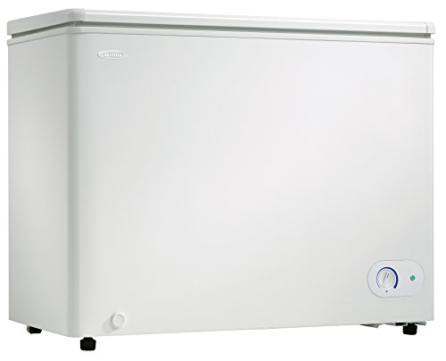 Danby DCF072A2WDB1 Chest Freezer, 7.2 Cubic Feet, White (Cubic Deep Freezer compare prices)