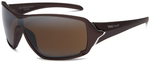 Tag Heuer Racer 9201 Oversized Sunglasses,Brown Frame/Brown Gradient Lens,one size