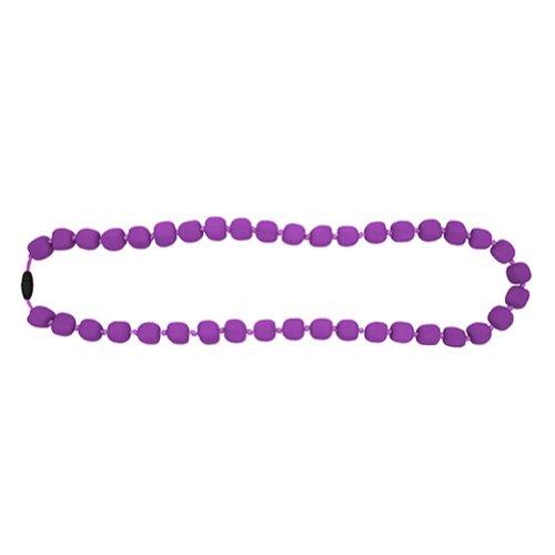 Jellystone Chewable Pea Nacklace, Purple Grape - 1