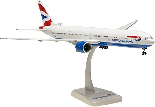 Hogan Wings / Limox - British Airways BOEING 777-336ER Triple-Seven - Reg. No.: G-STBH - (White - Union Flag with Crest livery) - Scale: 1:200 - Snap-Fit Model by Hogan Wings / Limox (British Airways 777 Model compare prices)