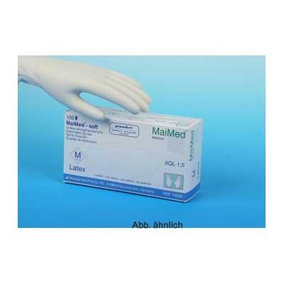 MaiMed - Latexhandschuhe soft,glatt Größe XS MaiMed - Latexhandschuhe soft,glatt Größe VS