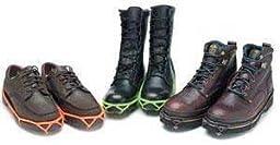 Yaktrax Walker Shoe Traction Cleats, Black, M 8003