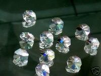 14mm Octagon Crystal Prisms #1080-14 Set of 100pc